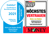CrefoZert / Focus Money Preissieger